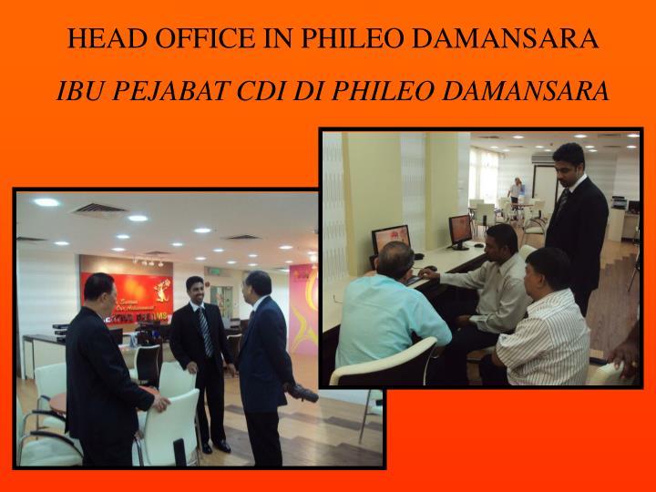 HEAD OFFICE IN PHILEO DAMANSARA