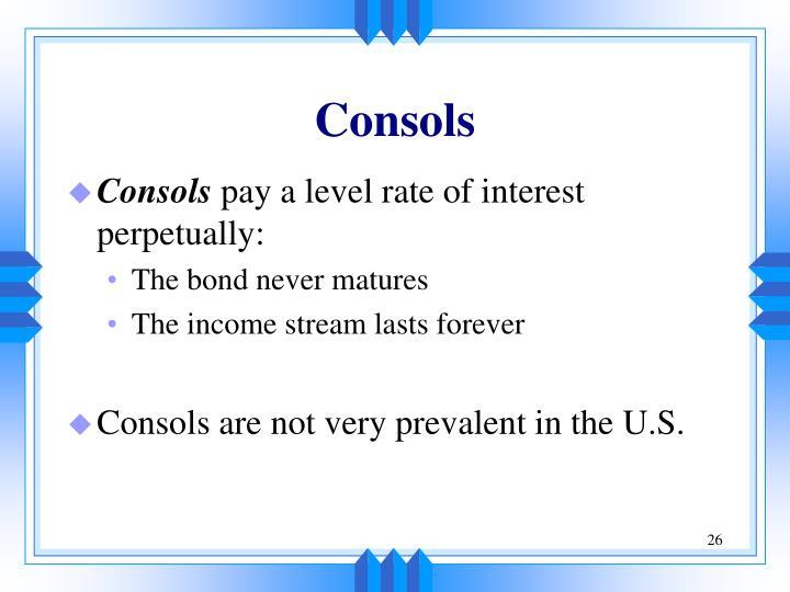 Consols