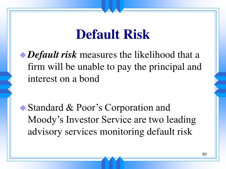 Default Risk