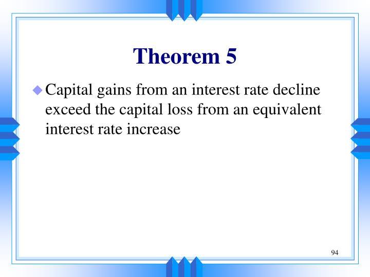 Theorem 5