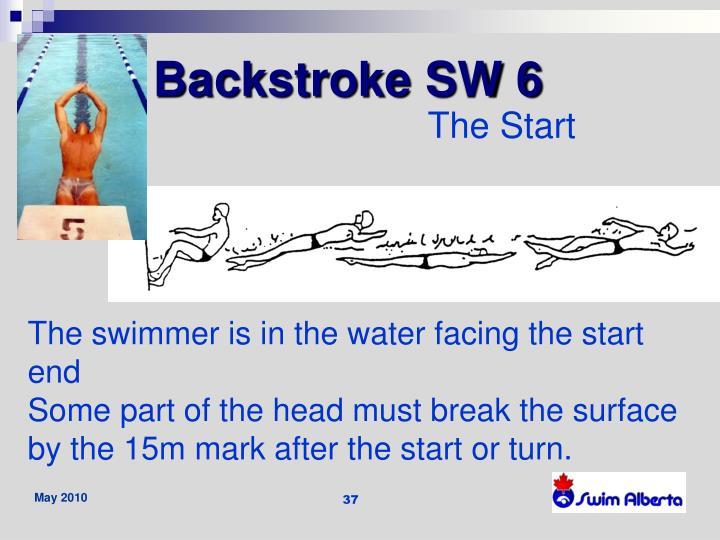 Backstroke SW 6