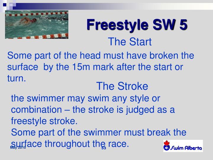 Freestyle SW 5