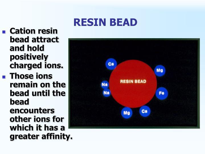 RESIN BEAD