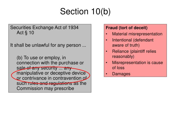 PPT - Insider Trading (Federal Law) PowerPoint ...