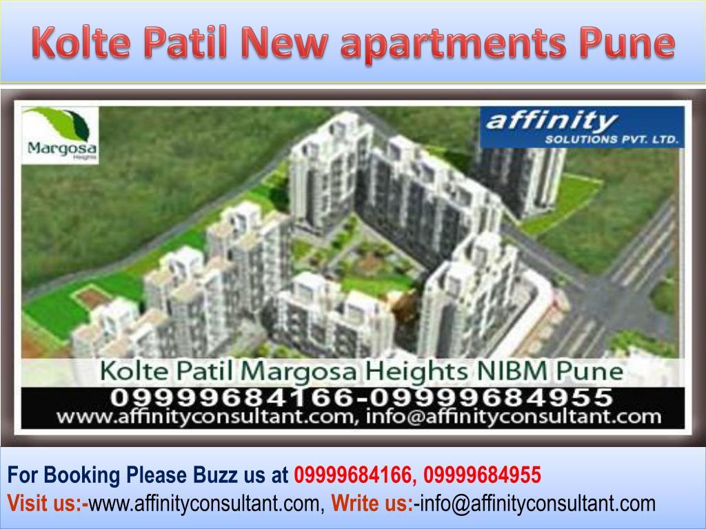 Kolte Patil New apartments Pune