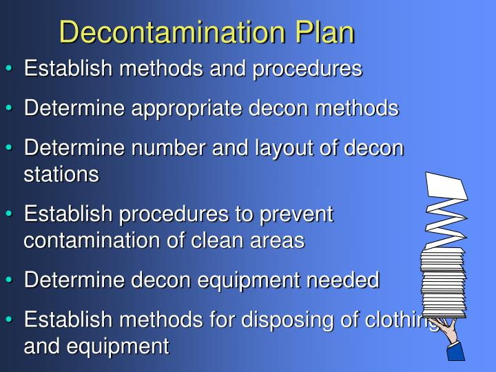 Decontamination Plan