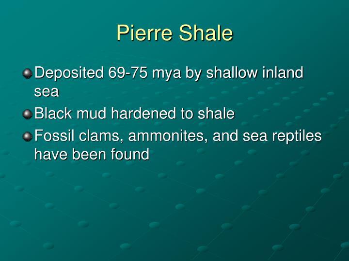 Pierre Shale