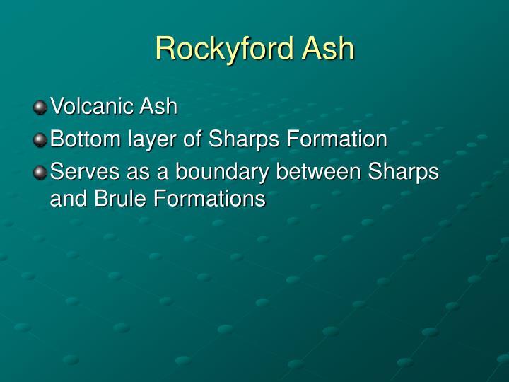 Rockyford Ash