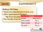 commitment ii