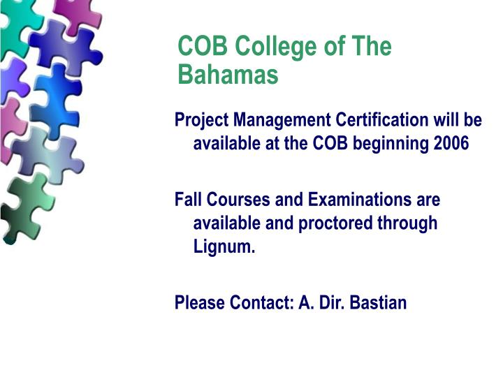 COB College of The Bahamas