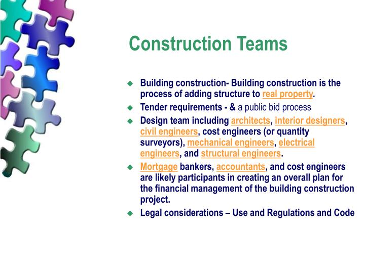 Construction Teams