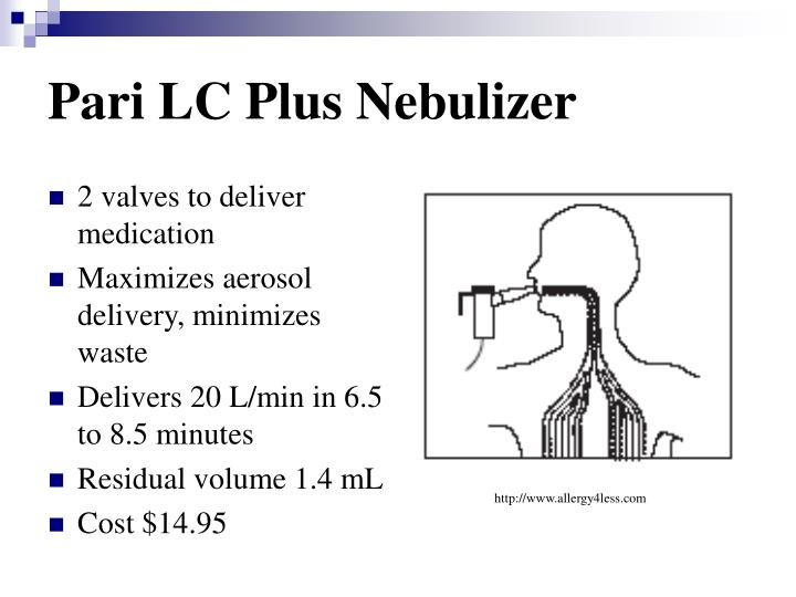 Pari LC Plus Nebulizer