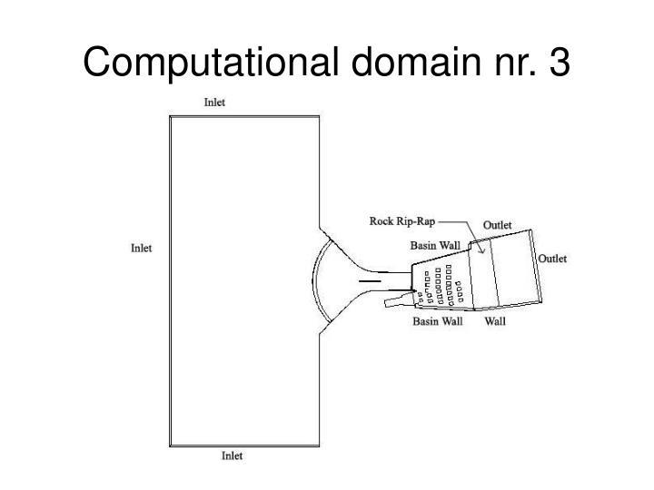 Computational domain nr. 3