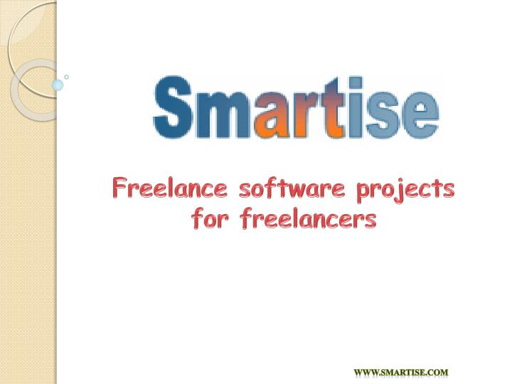 Freelance software projects