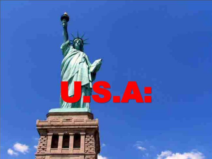 U.S.A: