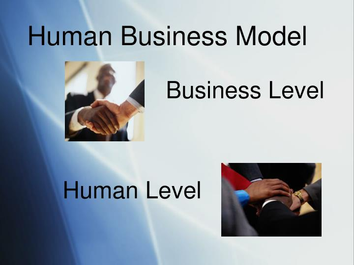Human Business Model
