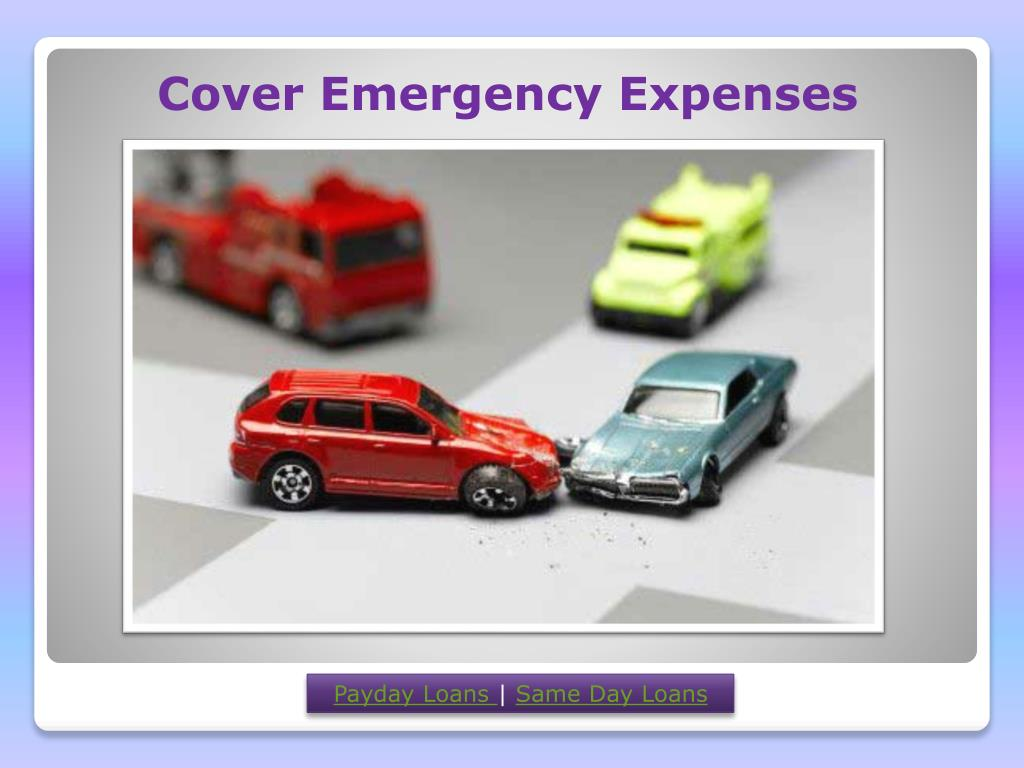 Cover Emergency Expenses