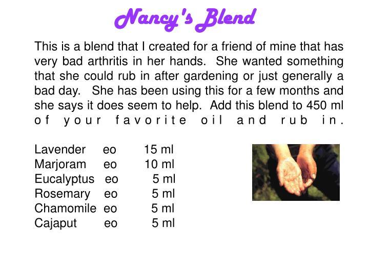 Nancy's Blend