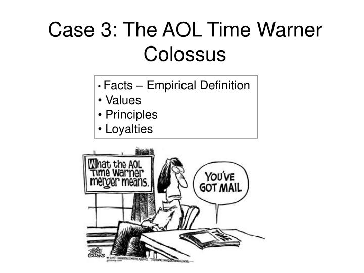 Case 3: The AOL Time Warner Colossus