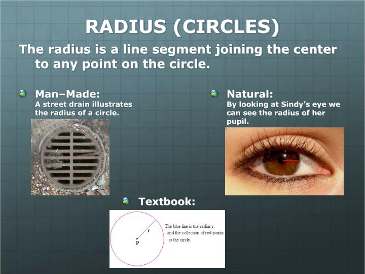 RADIUS (CIRCLES)