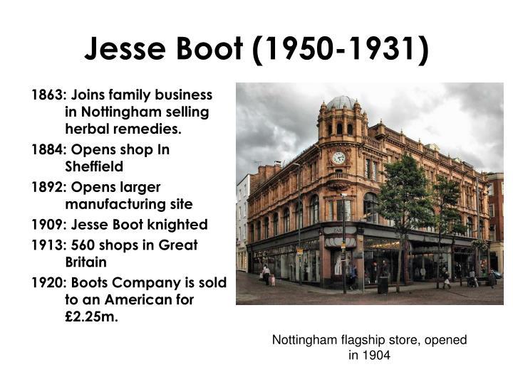 Jesse Boot (1950-1931)