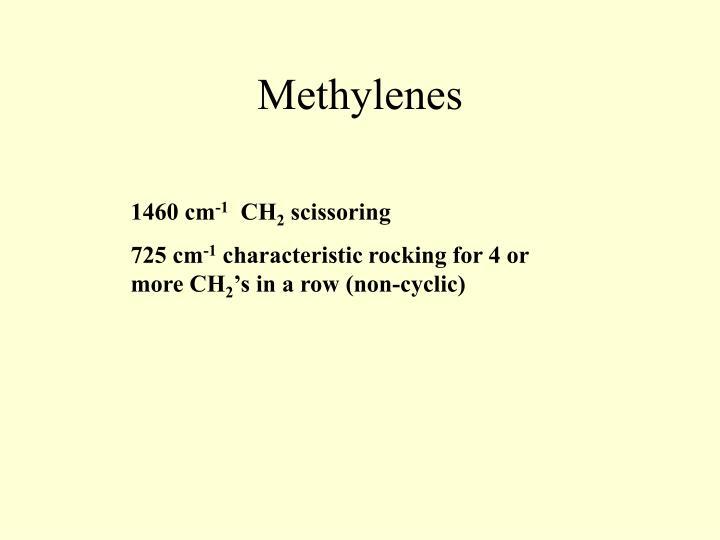 Methylenes