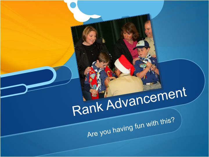 Rank Advancement