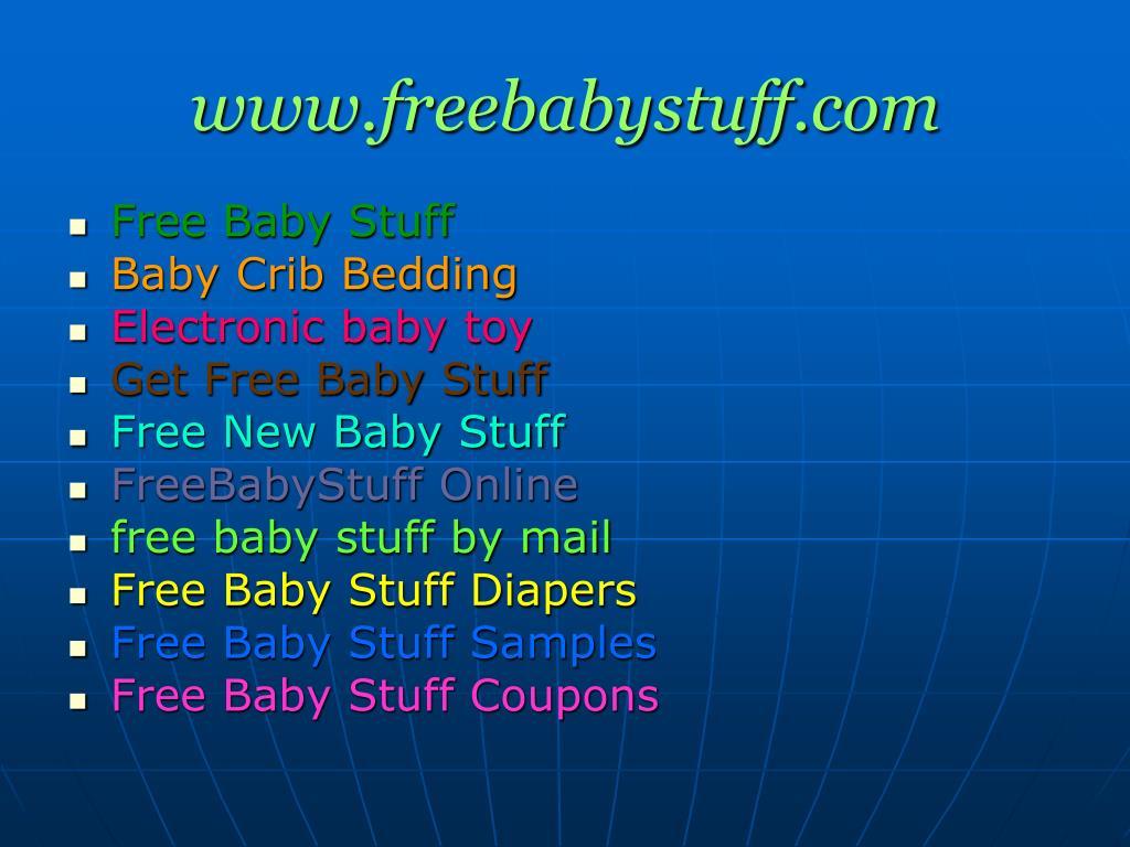 www.freebabystuff.com