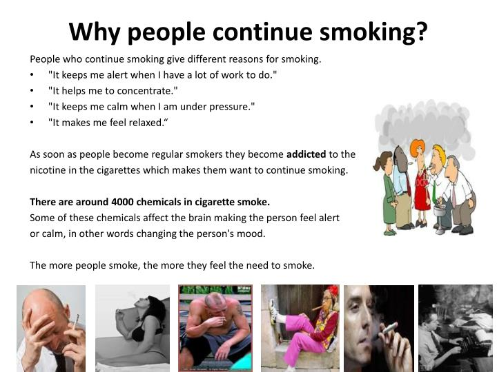 why people continue to smoke despite Full-text paper (pdf): why do young adult smokers continue to smoke despite the health risks a focus group study.