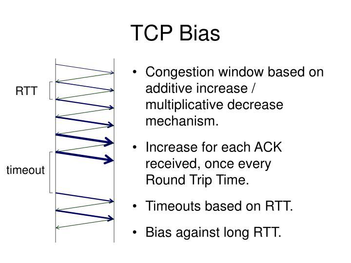 TCP Bias