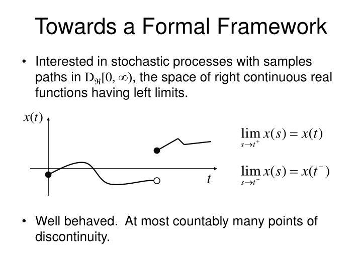 Towards a Formal Framework