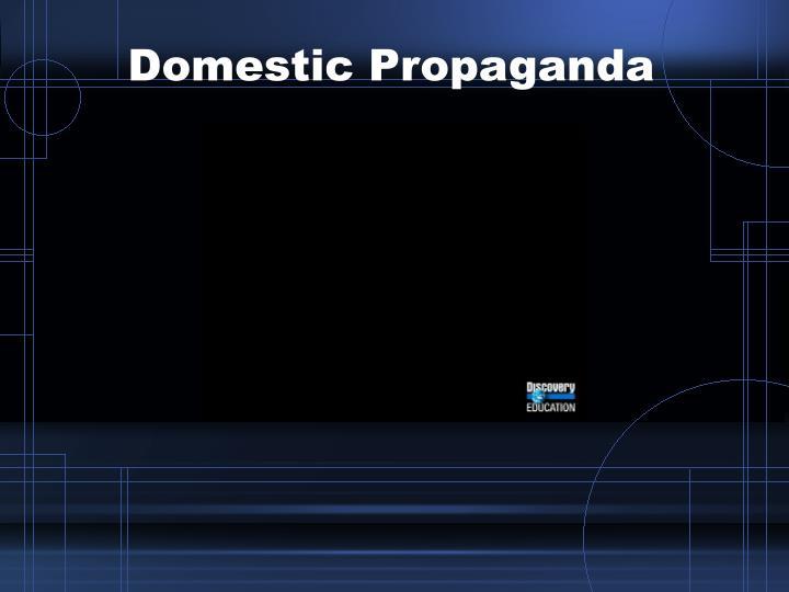 Domestic Propaganda