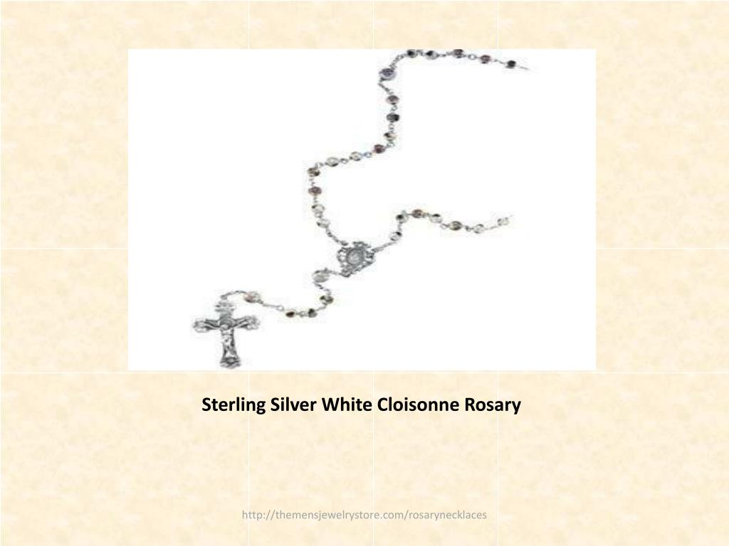 Sterling Silver White