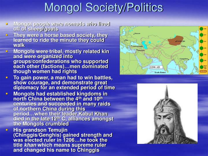 Mongol Society/Politics