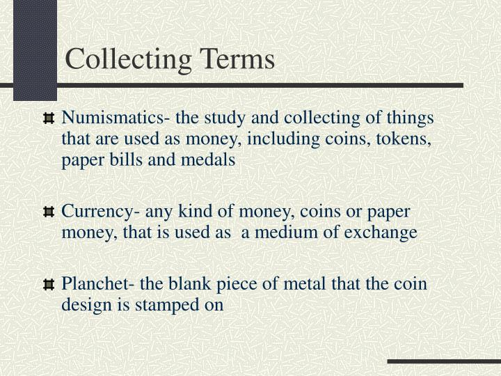 Collecting Terms