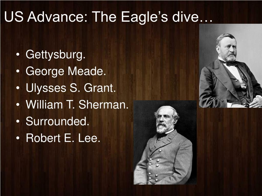 US Advance: The Eagle's dive…