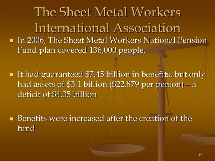 The Sheet Metal Workers International Association