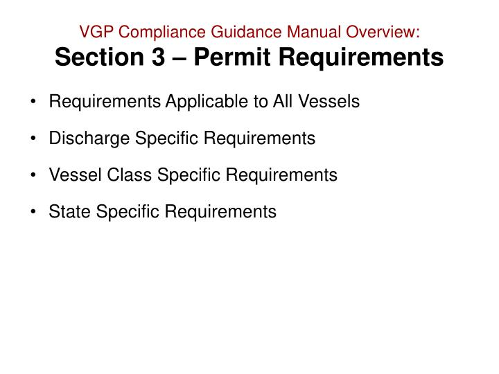 vgp guidance Of recordkeeping will help it meet the requirements of the vgp vgp corrective action assessment report form 19 - vgp corrective action assessment report.