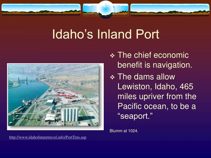 Idaho's Inland Port