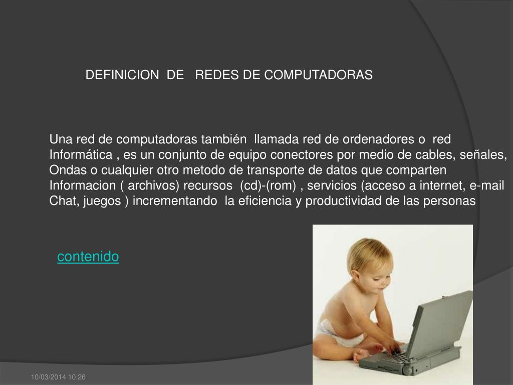 DEFINICION  DE   REDES DE COMPUTADORAS