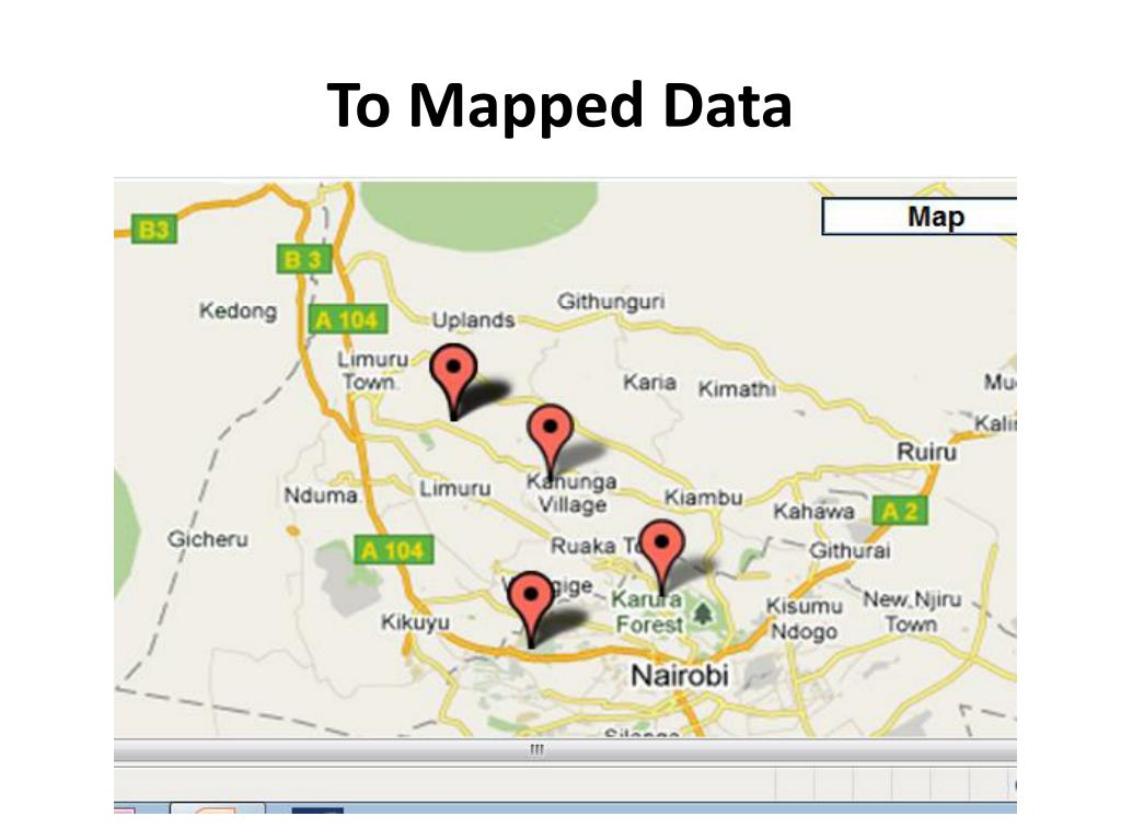 To Mapped Data