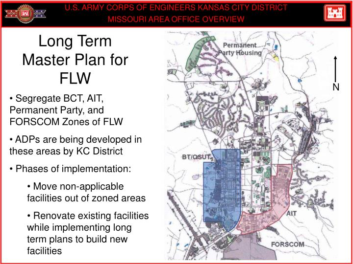 Long Term Master Plan for  FLW