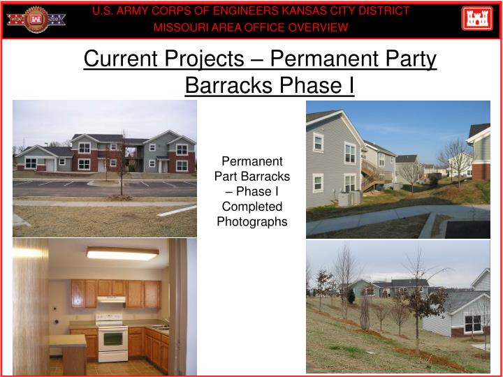 Current Projects – Permanent Party Barracks Phase I