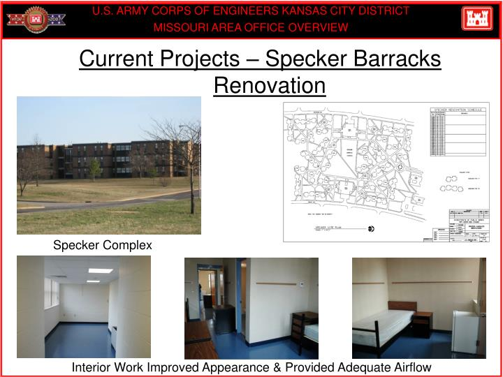 Current Projects – Specker Barracks Renovation