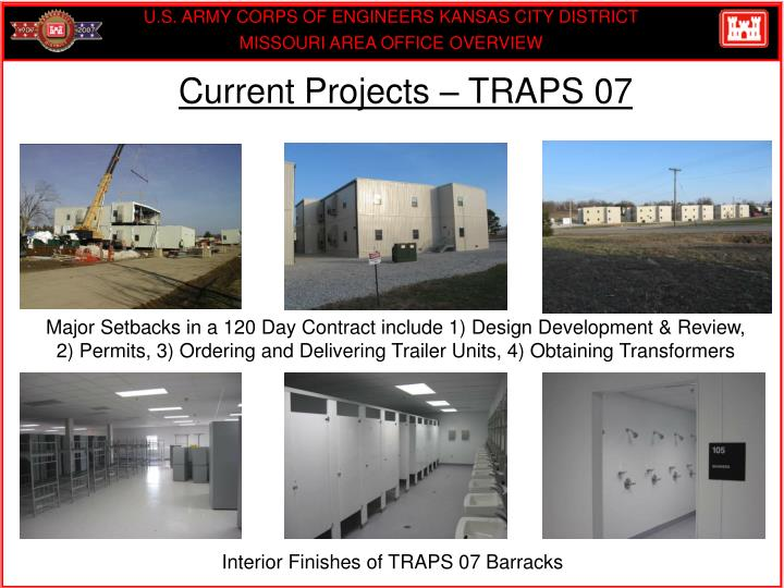 Current Projects – TRAPS 07