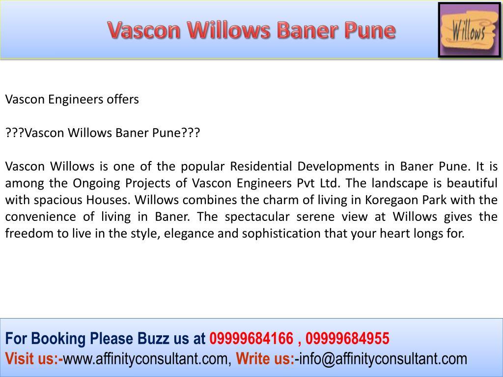 Vascon Willows Baner Pune