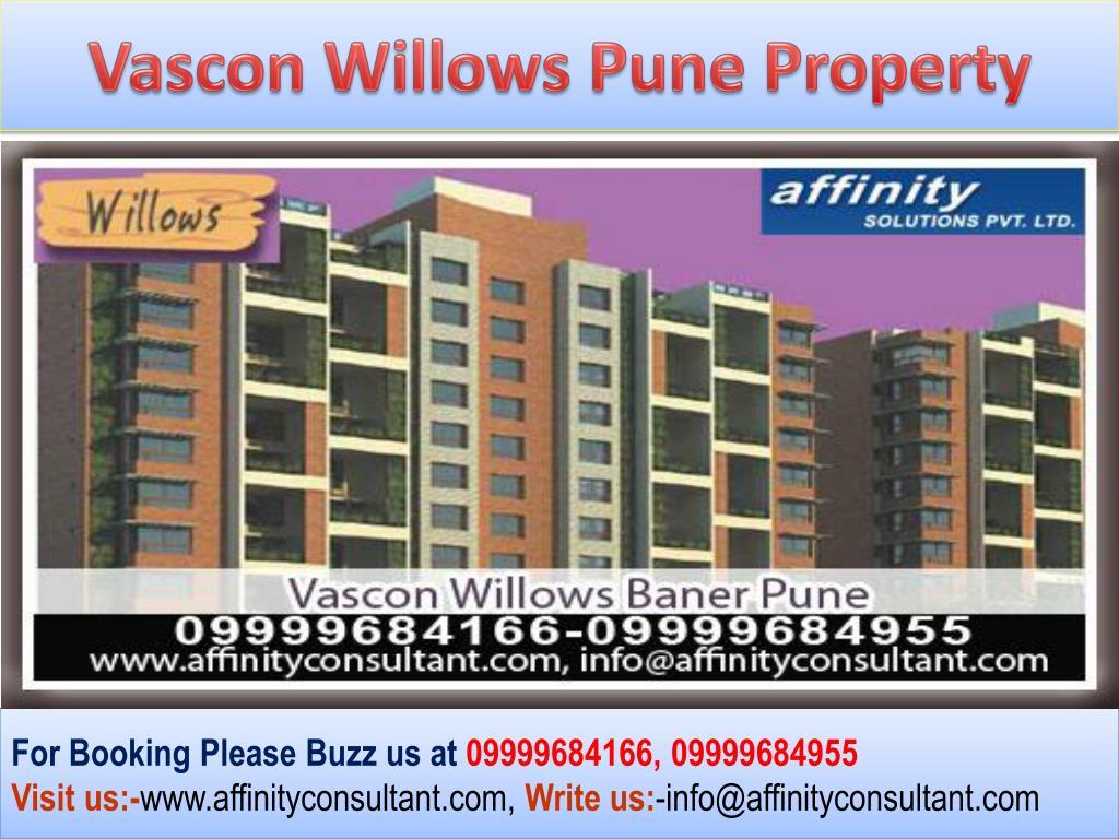 Vascon Willows Pune Property