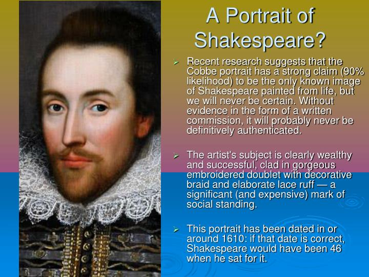 A Portrait of Shakespeare?