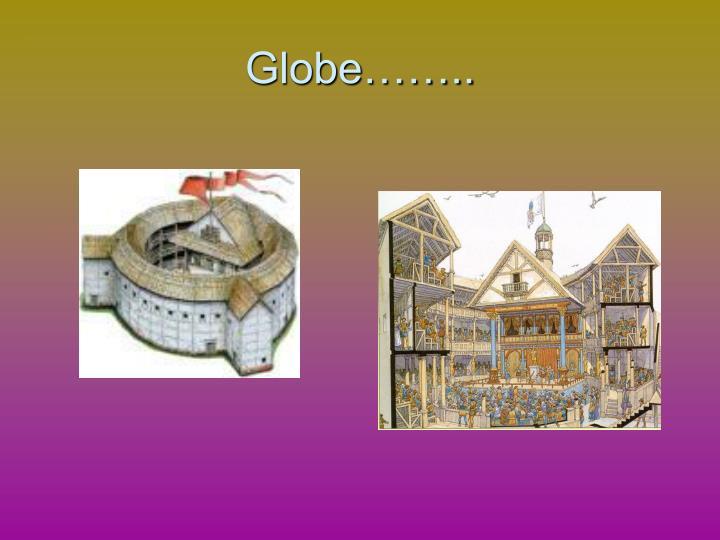 Globe……..