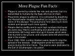more plague fun facts